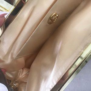 Cute gold clutch